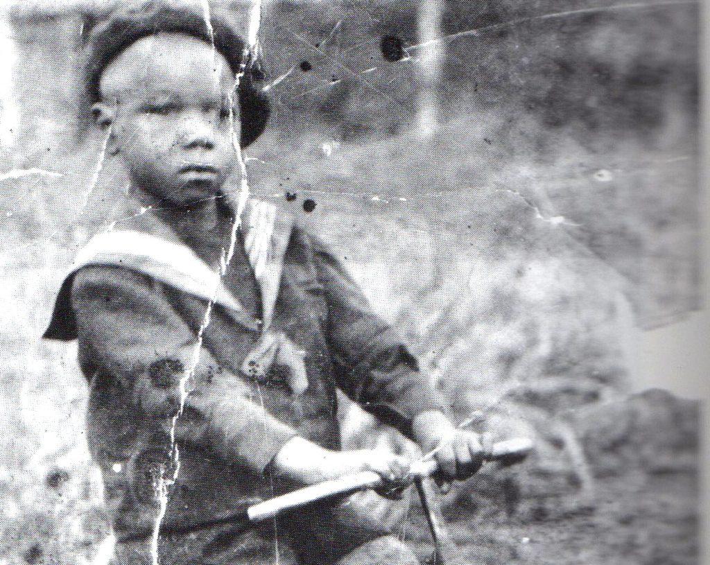 Manu Dibango à l'âge de 5 ans.