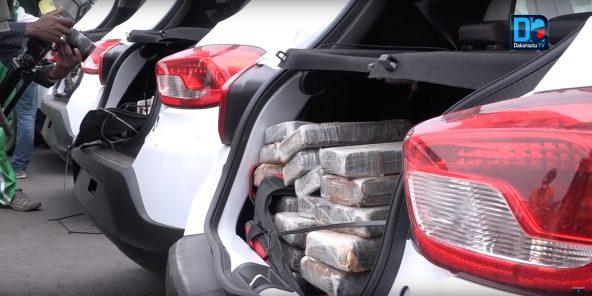 Saisie de 1,3T de cocaïne au port : la drogue évaluée à 50 milliards.1/434 vues