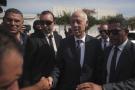 Kaïs Saïed, lors du second tour de l'élection présidentielle, dimanche 13 octobre 2019 à Tunis.