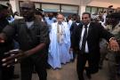 Mohamed Ould Ghazouani à la sortie d'un bureau de vote, le 22 juin 2019 (image d'illustration).