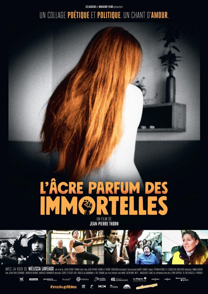 L'Âcre Parfum des immortelles, de Jean-Pierre Thorn(sortie en France le 23octobre)