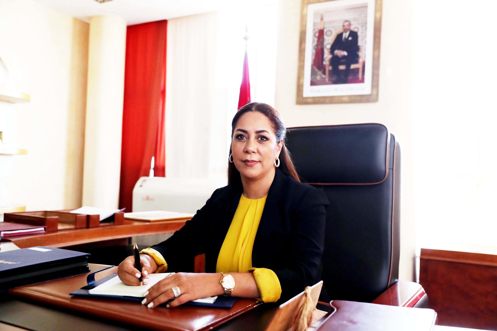 Nezha Bouchareb, nouvelle ministre de l'Aménagement du territoire.