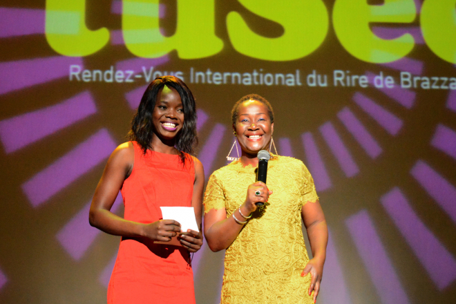 """À Brazzaville, le festival du rire tuSeo veut """"redonner le sourire aux Congolais"""""""