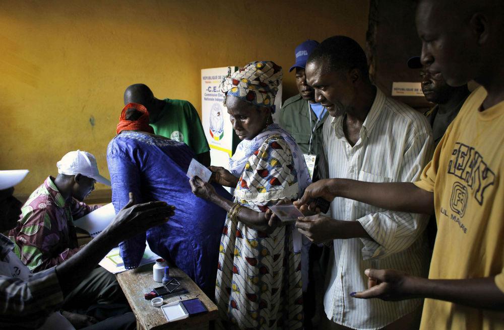 Lors du scrutin présidentiel à Conakry, en 2010 (illustration).