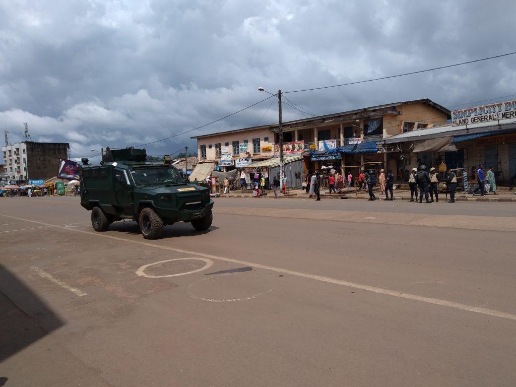 Bamenda, en novembre 2019.