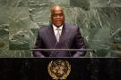 Le président Félix Tshisekedi lors de l'Assemblée générale des Nations unies à New York, le 26 septembre 2019.