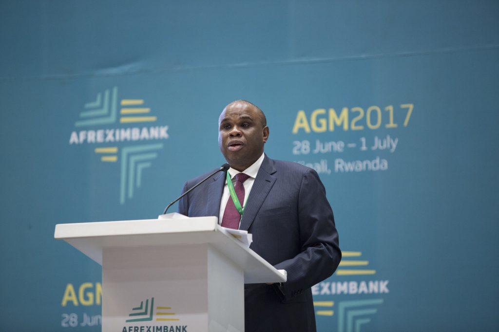 Benedict Oramah, président d'Afreximbank