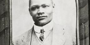 Thomas Mofolo, né en 1876 et mort en 1948.