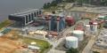 La centrale d'Azito en Côte d'Ivoire, dont Globeleq envisage d'ajouter 250 MW à sa capacité de production actuelle de 440 MW.