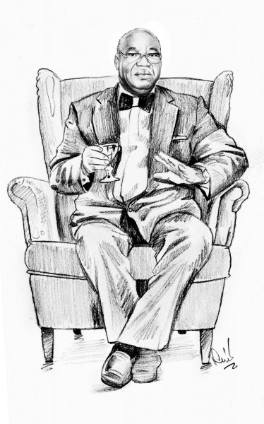 Dan Etete, ancien ministre nigérian du Pétrole.