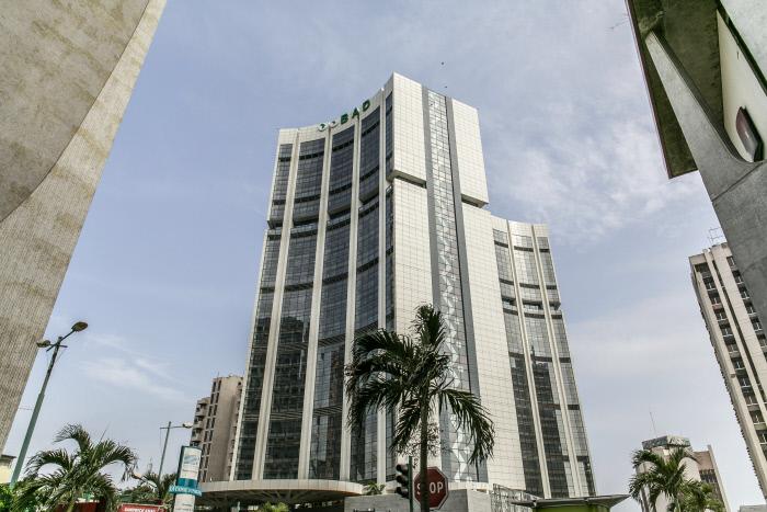 Le siège de la BAD à Abidjan, en 2016.
