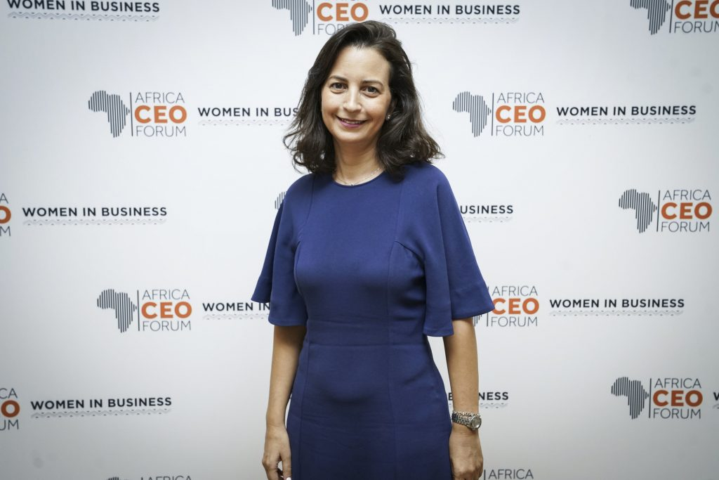 AFRICA CEO FORUM : Women in Business Annual Leadership Meeting. JOUR 2. Photographe : François Grivelet.Region Leaders : Emna Kharouf, Associate Director, Deloitte (Tunisia).