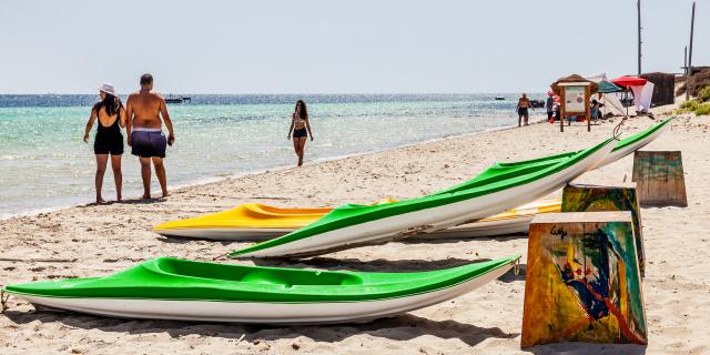 Tunisie : Kuriat, le paradis sur mer