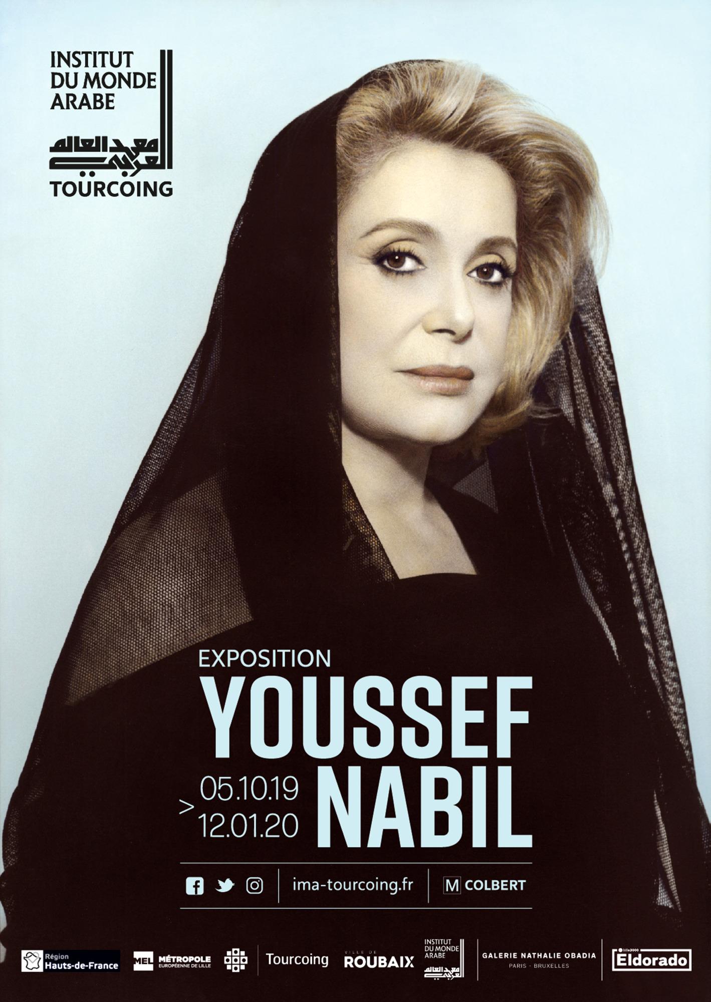 «Youssef Nabil», Institut du monde arabe de Tourcoing, 9, rue Gabriel-Péri, 59200 Tourcoing, jusqu'au 12janvier 2020.