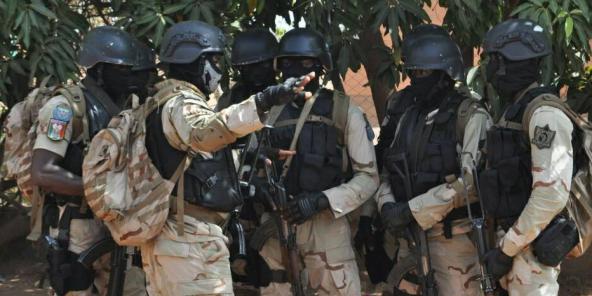 Forces spéciales burkinabè à l'entraînement, en avril 2018 (illustration)