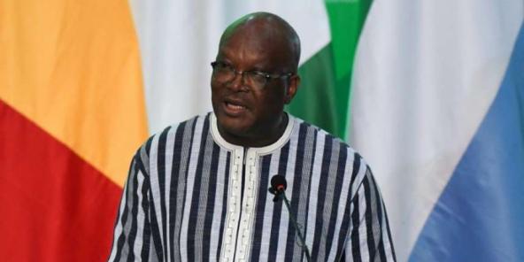 Le président du Burkina Faso, Roch Marc Christian Kaboré, le 14 septembre 2019 à Ouagadougou.