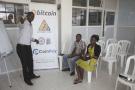À Kampala, le mineur de bitcoins Godfrey Kabaka Mumpe organise une conférence pour faire connaître le bitcoin, en mars 2018.
