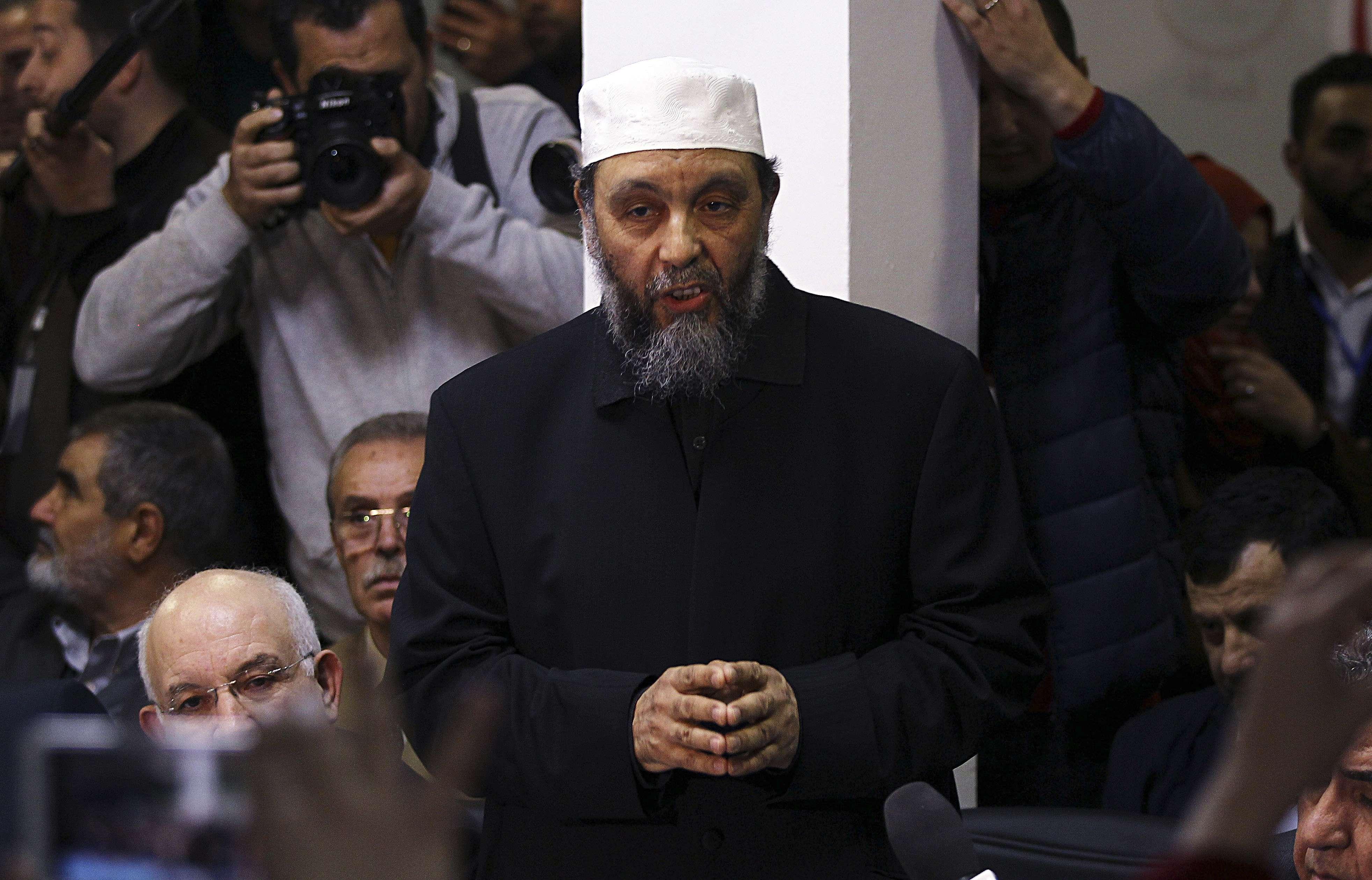 Le président du Front de la Justice et du développement (El-Adala), Abdallah Djaballah, le 20 février 2019.