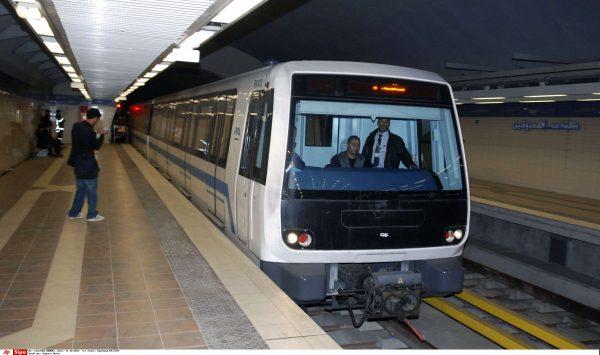 Une rame du métro d'Alger inauguré le 11 octobre 2011.
