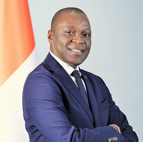 Le ministre ivoirien des Transports Amadou Koné.