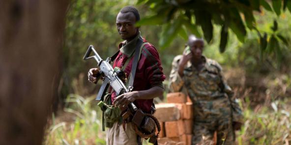 Des combattants de l'ex-Séléka, à Bangui en 2013 (Archives).