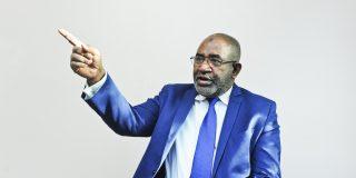 Azali Assoumani (Comores). Président de l'Union des Comores élu le 11 mai 2016. C'est son deuxième mandat. A Paris, le 06.10.2016. © Vincent Fournier/JA