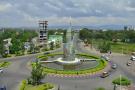 La ville d'Hawassa, capitale régionale dans le sud de l'Éthiopie le 21 novembre 2019.