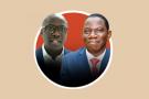 Simon Tiemtoré, de Lilium Capital, et Bernard Dossongui Koné, d'Atlantic Financial