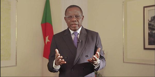 Maurice Kamto, le leader du Mouvement pour la renaissance du Cameroun (MRC).