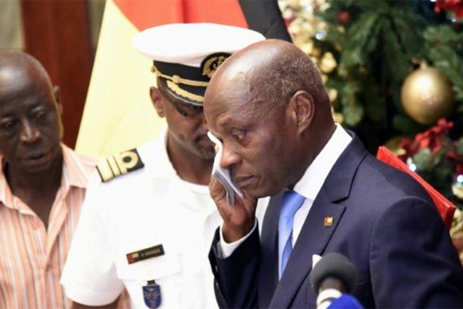 Présidentielle en Guinée-Bissau : José Mario Vaz, en larmes, appelle au retour de la stabilité