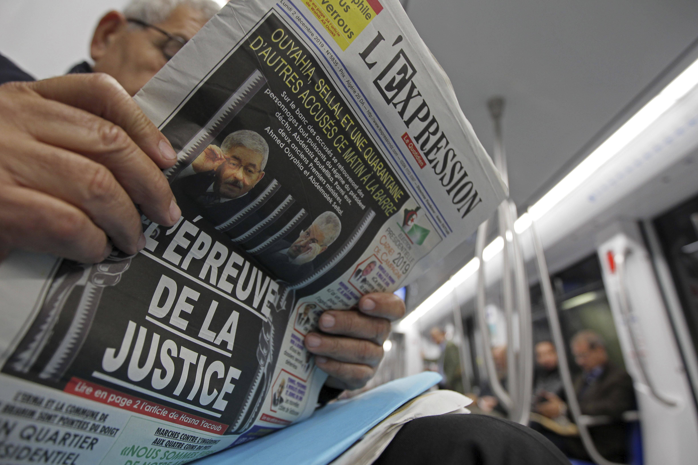 Lundi 2 décembre, presque tous les journaux algériens titraient sur l'ouverture du procès (finalement reportée de 48h).
