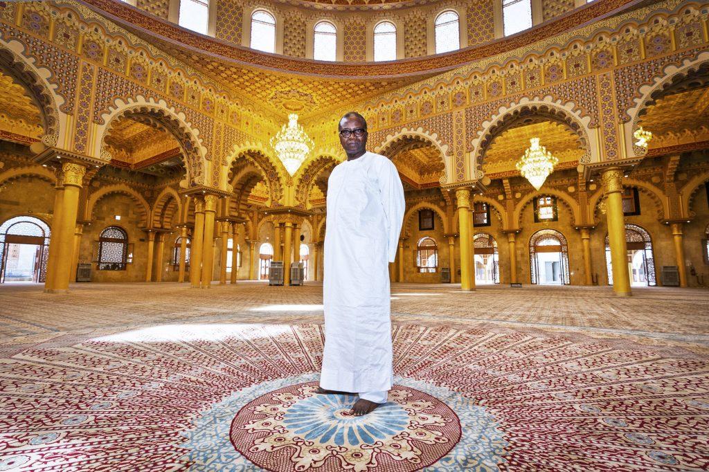 MosqueMaissa Toure, l'architecte qui a conçu la nouvelle mosquée des mourides à Dakar.