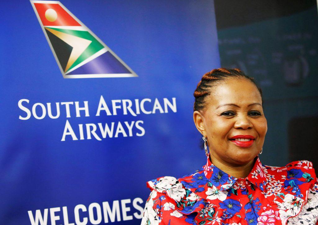 La nouvelle PDG de South African Airways, Zuks Ramasia.