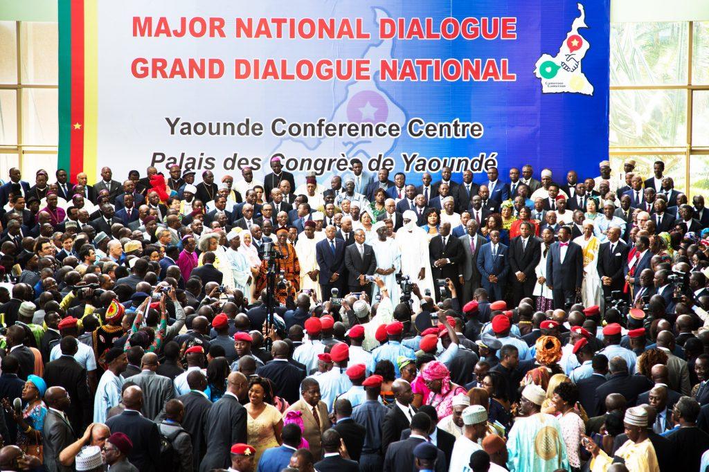 OUverture du dialogue national à Yaoundé, le 3décembre.