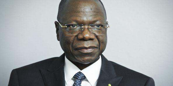 Kalzeubé Pahimi Deubet (Tchad), Premier ministre  A Paris, le 20 juin 2014.   Photo de Vincent Fournier/Jeune Afrique