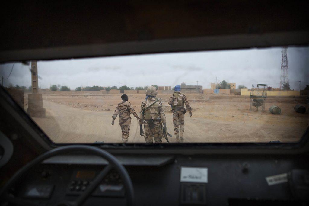 Une patrouille de Casques bleus tchadien à Kidal, en 2017