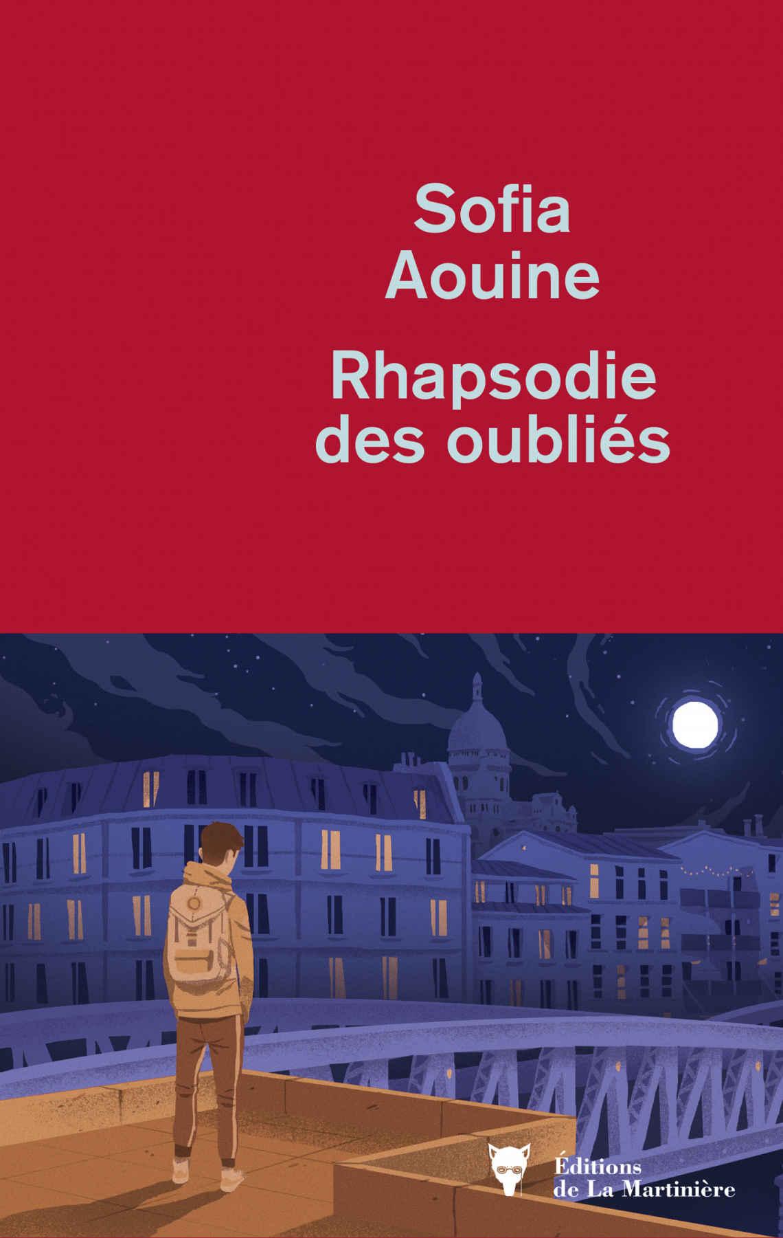 Rhapsodie des oubliés, de Sofia Aouine, LaMartinière, 208pages, 18euros