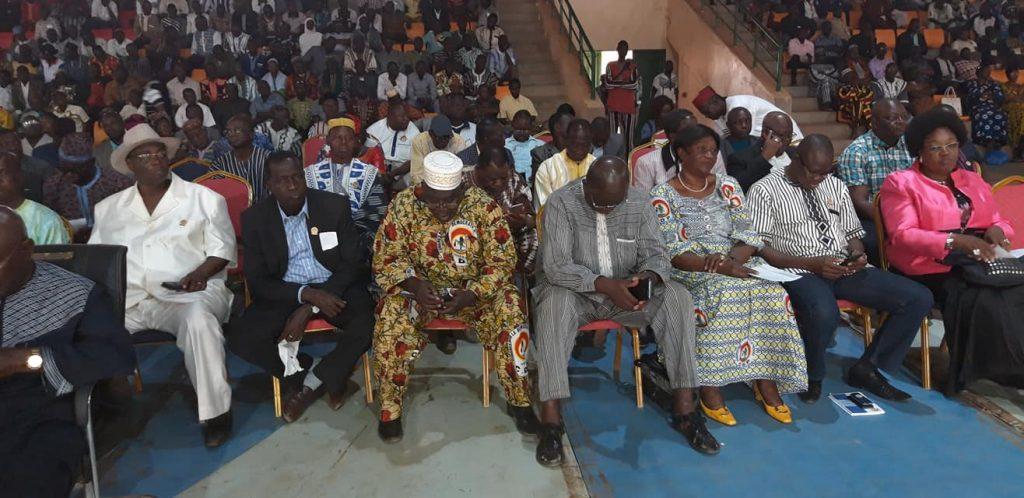 Lors du congrès extraordinaire du CDP, le 7 décembre 2019 à Ouagadougou.