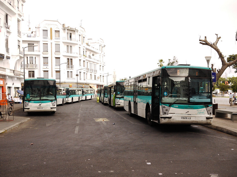 La flotte de M'dina Bus est traditionnellement achetée à la RATP française.