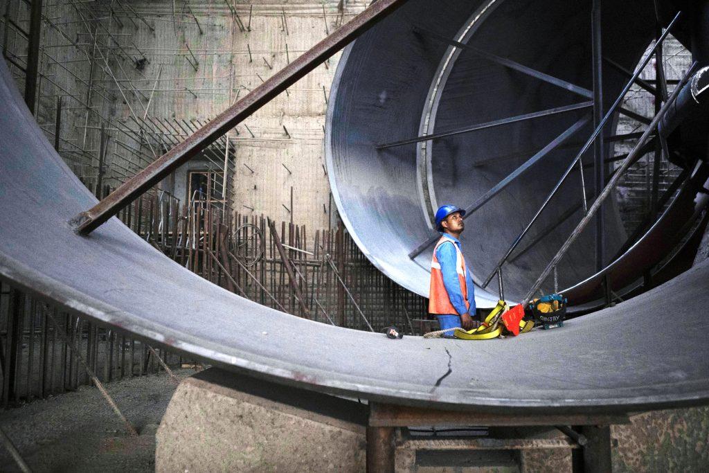 Le chantier devrait être totalement achevé en 2022.