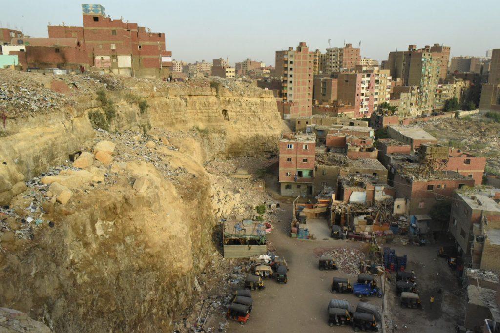 Un quartier populaire du Caire