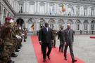 Le Premier ministre belge Charles Michel et le président congolais Félix Tshisekedi, le 17 septembre 2019 à Bruxelles.