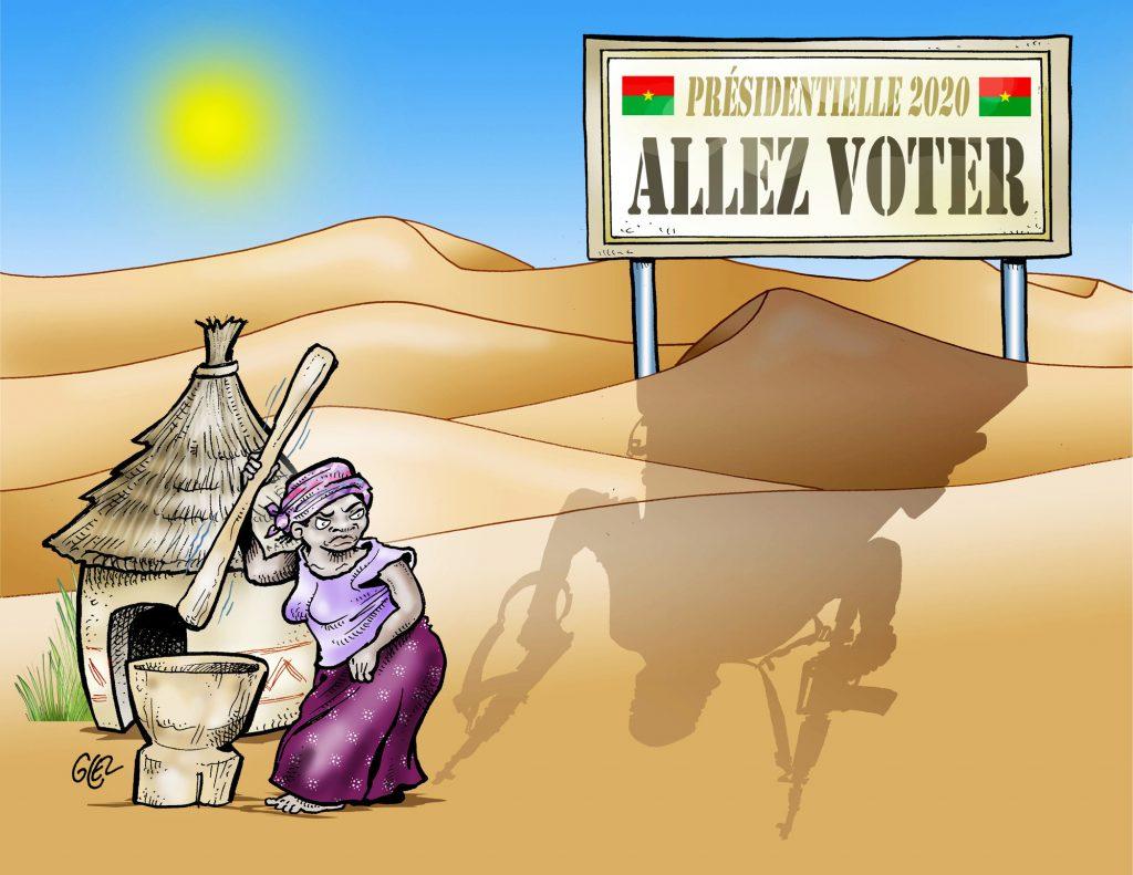 Le défi électoral du Burkina Faso