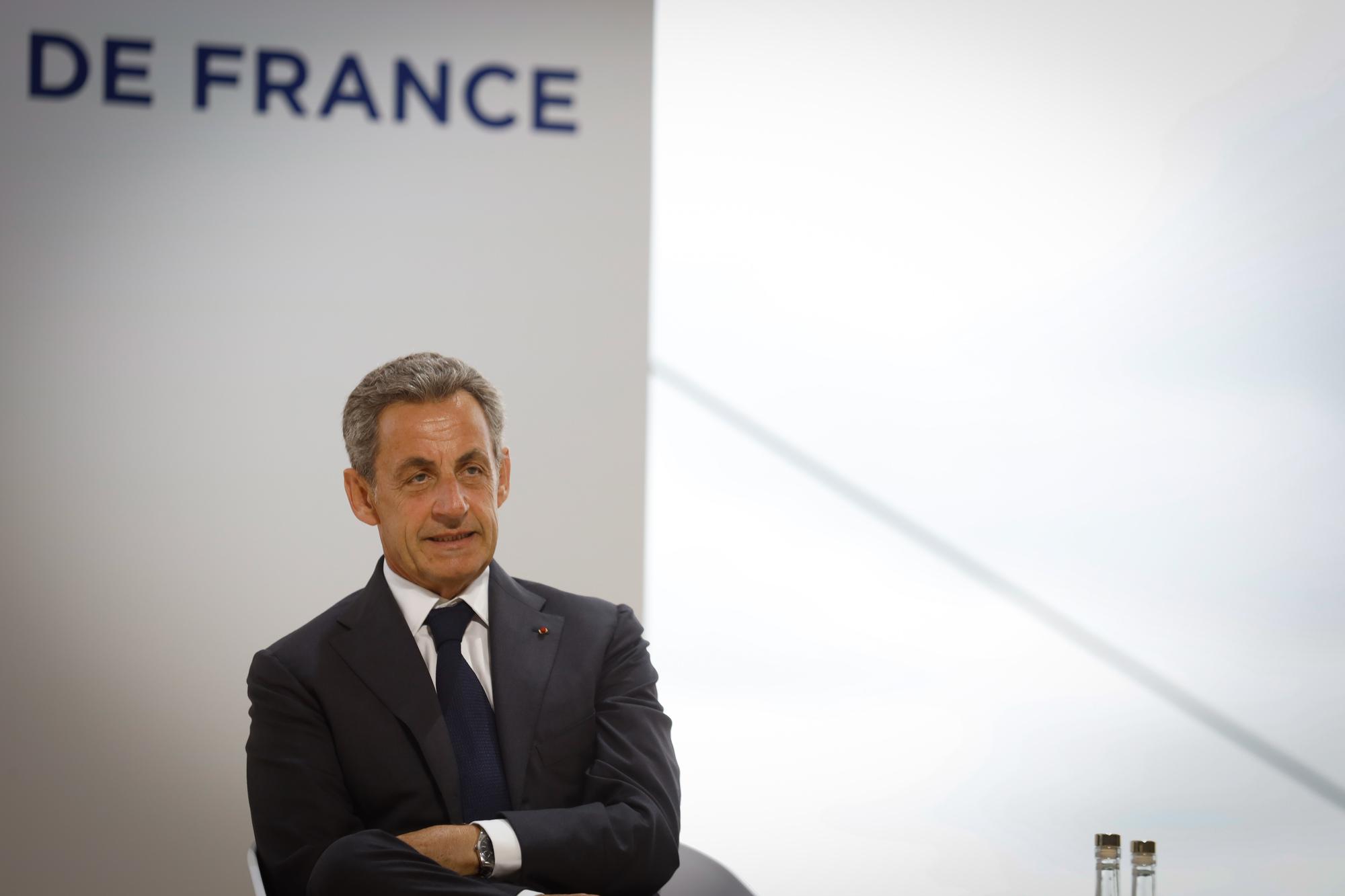 Nicolas Sarkozy, ancien president de la Republique