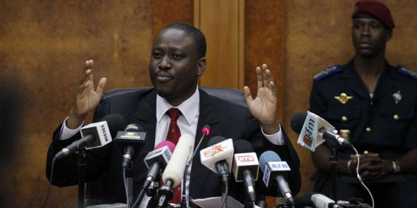 L'ancien président de l'Assemblée nationale Guillaume Soro, en 2011.