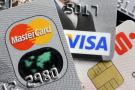 Cartes bancaires Mastercard et Visa.