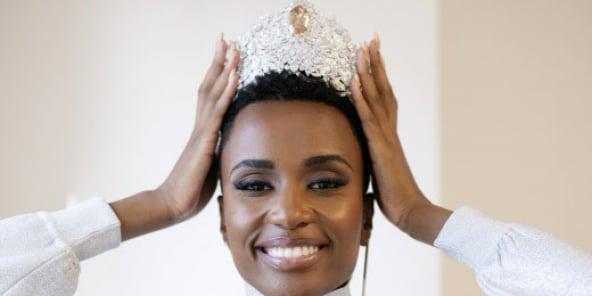 IZozibini Tunzi, Miss Universe 2019