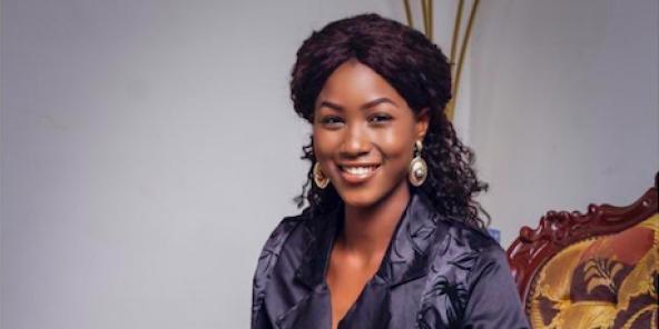 Audrey Nabila Monkam, Miss Nord Ouest 2020, désormais Miss Cameroun 2020.