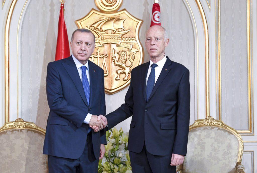 Le président turc a proposé sa coopération au nouveau président tunisien, Kaïs Saïed, « pour aider au règlement de la crise libyenne », le 25 décembre.