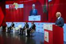 Othman Benjelloun, PDG de BMCE Bank of Africa, qui a co-organisé une conférence sur la blockchain dans la logistique avec l'Association des exportateurs marocains. Ici lors de la 2e édition du China-Africa Investment Forum, en 2017 (photo d'illustration).